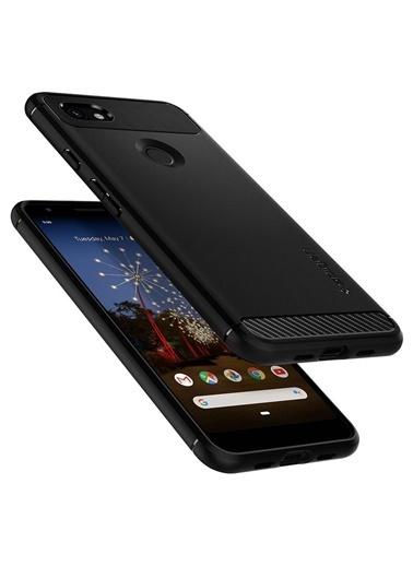 Spigen Spigen Google Pixel 3a XL Kılıf, Spigen Rugged Ar Siyah